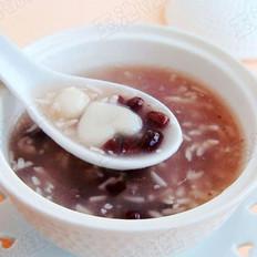 红豆米酒小汤圆 的做法