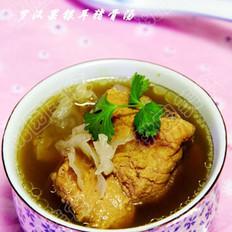 罗汉果银耳猪骨汤的做法