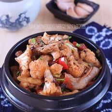 香辣干锅菜花的做法