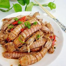 清炒皮皮虾
