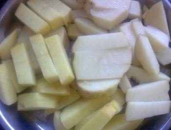 土豆蒸肉的做法