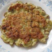 香菇鸡蛋饼