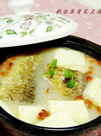 奶白鱼香豆腐汤的做法