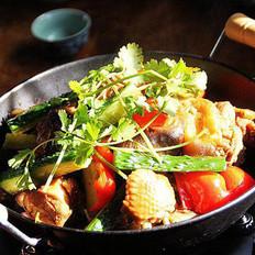 香辣雞鍋的做法