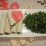 豆腐皮包甜菜