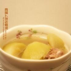 青萝卜煲老鸭汤