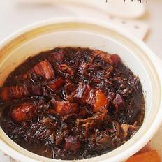 梅干菜红烧肉的做法
