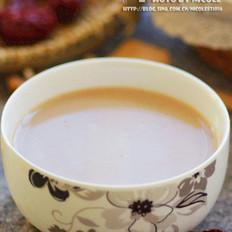 核桃红枣糯米豆浆的做法