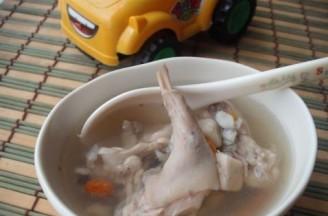 四神兔肉汤的做法