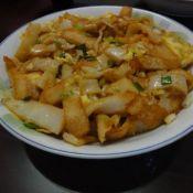 香葱鸡蛋炒粿条