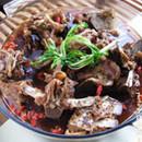 炖羊羊排地锅炖大全的做法蝎子图片
