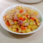 土豆洋葱炒鸡丁