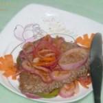 圆葱黑椒牛排的做法