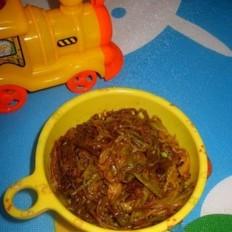 黄花菜炸酱