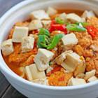 鱼籽豆腐煲