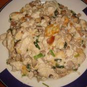 榄菜牛碎烩豆腐