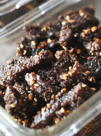 麻辣牦牛牛肉干的做法