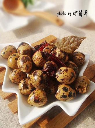 卤五香鹌鹑蛋的做法