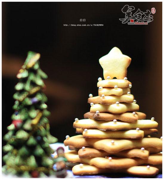 圣诞树饼干的做法【步骤图】_菜谱_美食杰