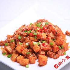 干煸鱼香土豆丁的做法