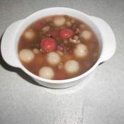燕麦红豆汤圆