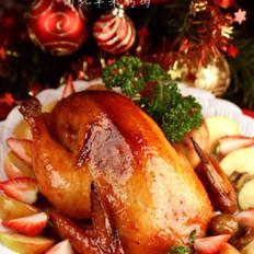 中式圣诞烤鸡的做法