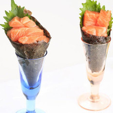 挪威三文鱼手卷的做法