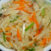 猪油炒沙葛红萝卜