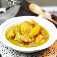 椰浆咖哩鸡的做法