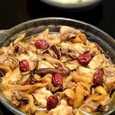 红枣冬菇蒸滑鸡