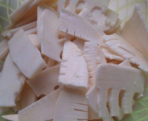 凉拌蜂蜜笋片的做法