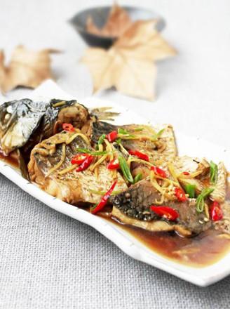 姜味婆婆鱼的做法
