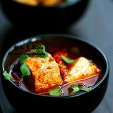 水煮豆腐的做法