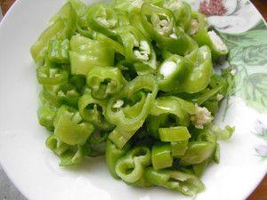 炒辣椒五花肉的做法