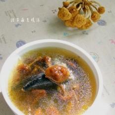 滑子菇乌鸡汤