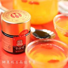 鲜果明目红参茶