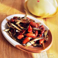 海燕鱼拌花生米