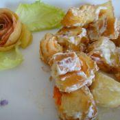 苹果咕噜虾