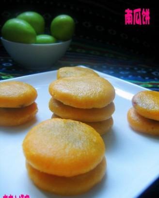 无油的南瓜饼的做法