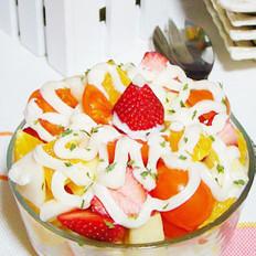 冬日水果沙拉的做法