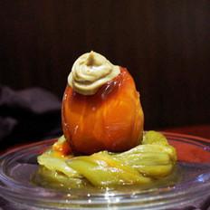 突尼斯烤椒拌皮蛋的做法