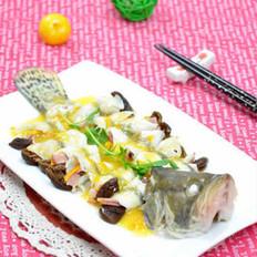 吉庆有鱼的做法