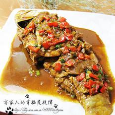 酱汁鲤鱼的做法