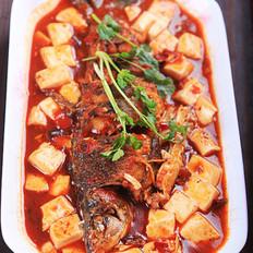 麻辣豆腐燒鯽魚的做法
