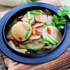干锅萝卜的做法