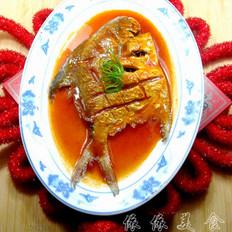 茄汁银鲳鱼
