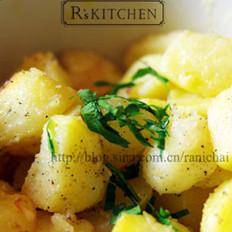 牛油烤土豆的做法