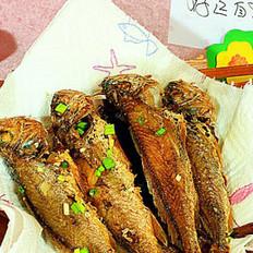 酥炸小黃魚的做法