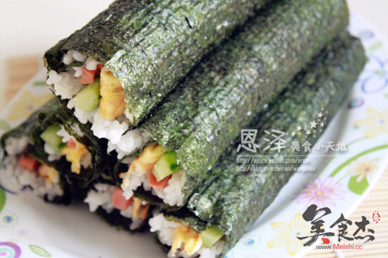寿司的做法【步骤图】_菜谱_美食杰