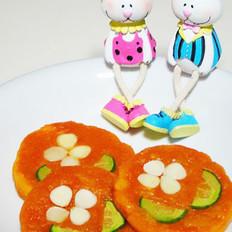 杏仁南瓜饼
